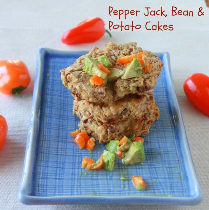 Pepper Jack, Bean & Potato Cakes - Teaspoon of Spice