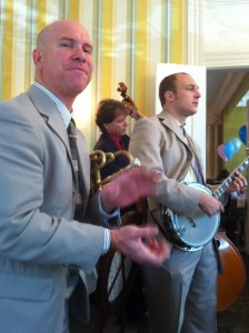 Jazz trio at Commanders Palace brunch