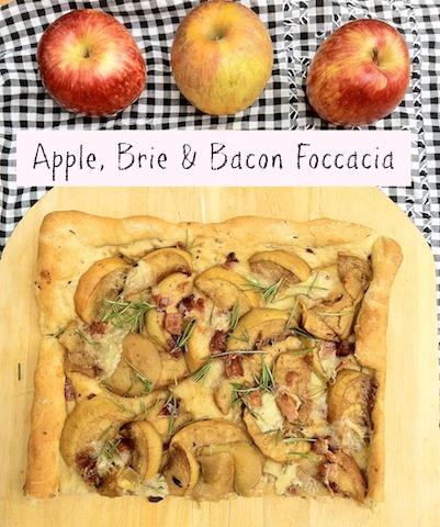 Apple Brie Bacon Foccacia