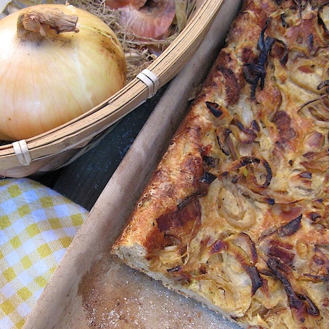 Bacon Onion tart
