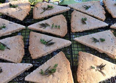 Rosemary Thyme Shortbread