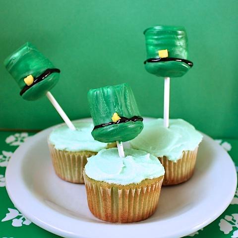 Saint Patricks Day cupcakes