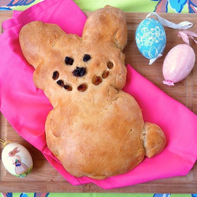 Easter Bunny Sweet Bread | Teaspoonofspice.com