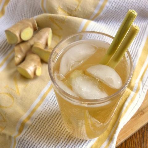 Ginger Lemongrass Fizz