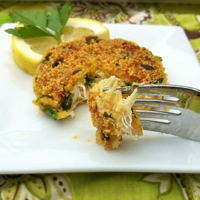 Gluten Free Classic Crab Cakes   Teaspoonofspice.com