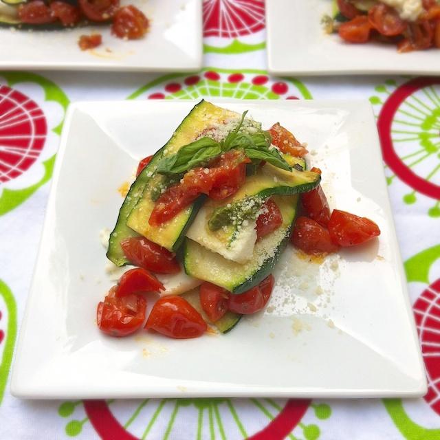 Zucchini Tomato Lasagna | Teaspoonofspice.com