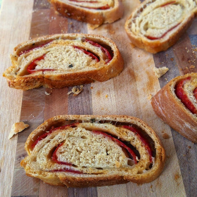 Pepperoni Bread   Teaspoonofspice.com
