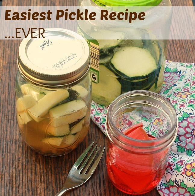 Easiest Pickle Recipe Ever   TeaspoonOfSpice.com
