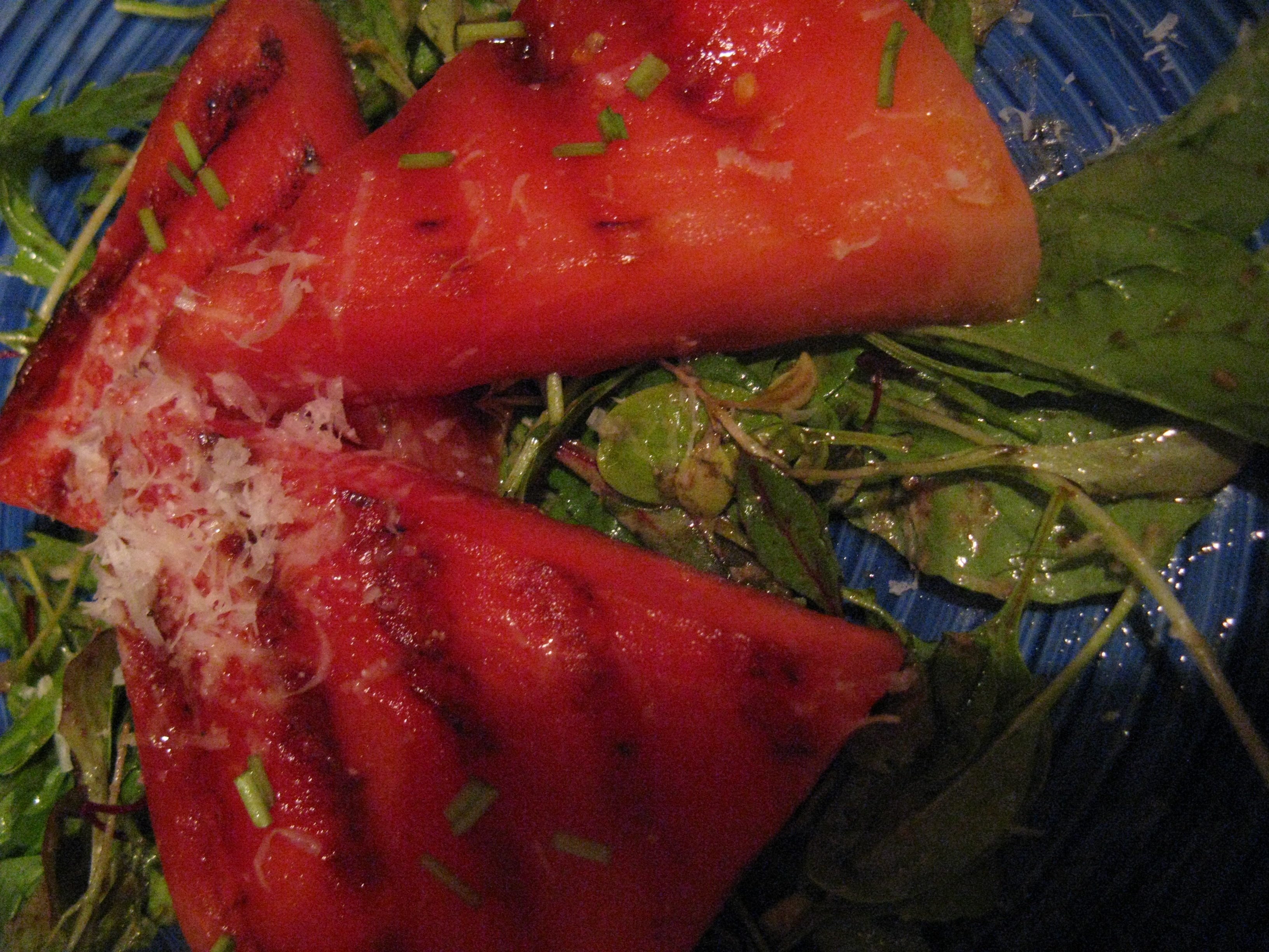 The Recipe Redux: Grilled Watermelon Salad