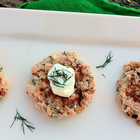 Salmon Potato Cakes: Inspired by Norway
