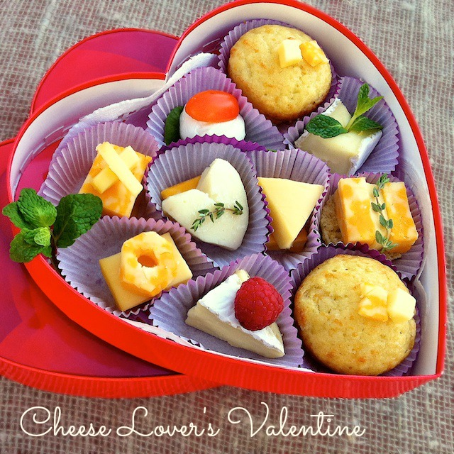 A Cheese Lover's Valentine Box