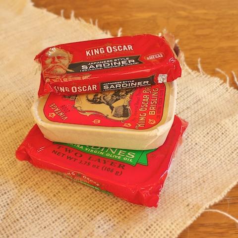 Watercress Sardine Tea Sandwiches