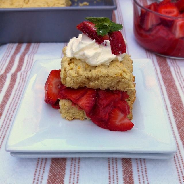 Light Rhubarb Strawberry Shortcake: Rhubarb Recipe Roundup
