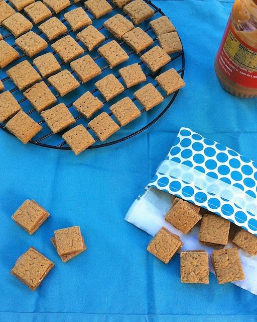 Peanut Butter Sandwich Graham Crackers