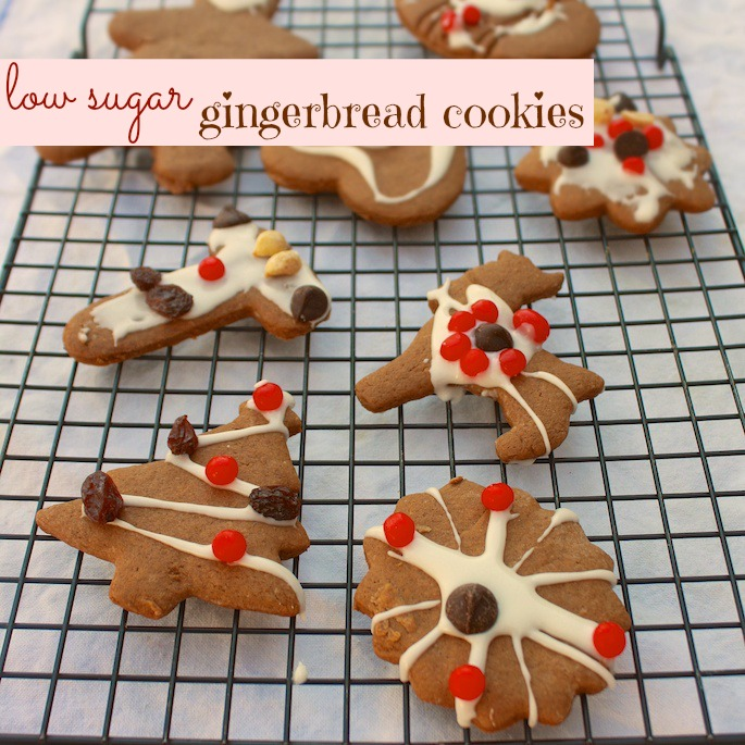 Low Sugar Gingerbread Cookies | The Recipe ReDux