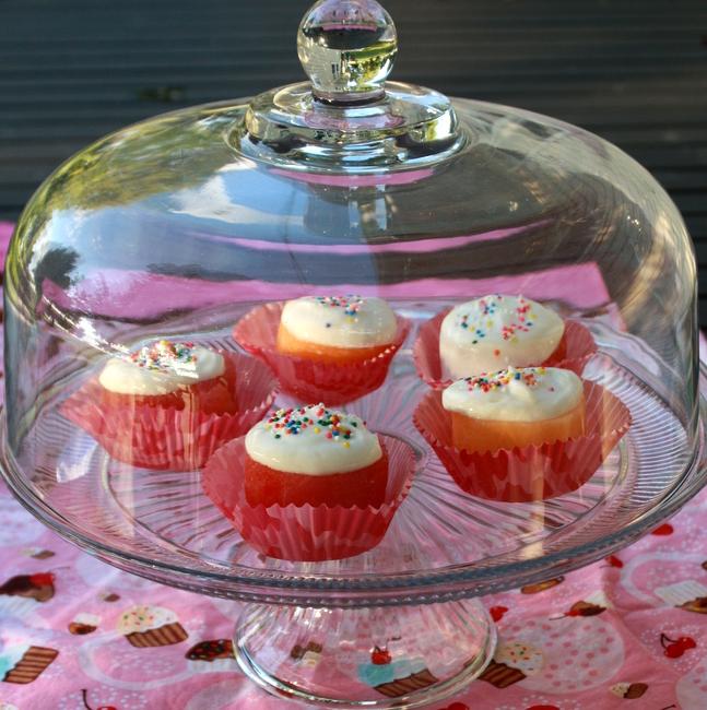 Watermelon Cupcakes | TeaspoonOfSpice.com