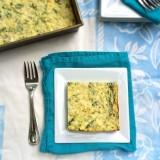 Spinach Ricotta Breakfast Bake | Teaspoonofspice.com