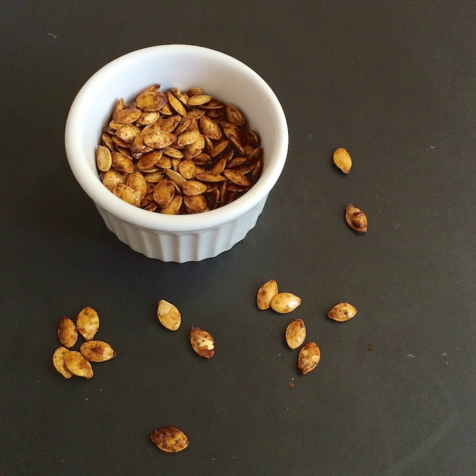How to Roast Squash Seeds: Sugar and Spice Butternut Squash Seeds