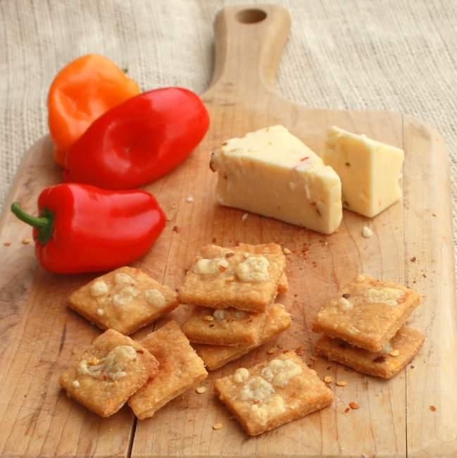 homemade cornbread crackers