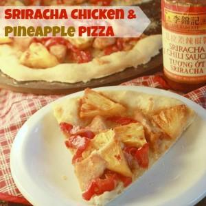 Sriracha Chicken & Pineapple Pizza   TeaspoonOfSpice.com