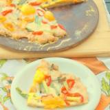 Sweet Mini-Pepper Pizza
