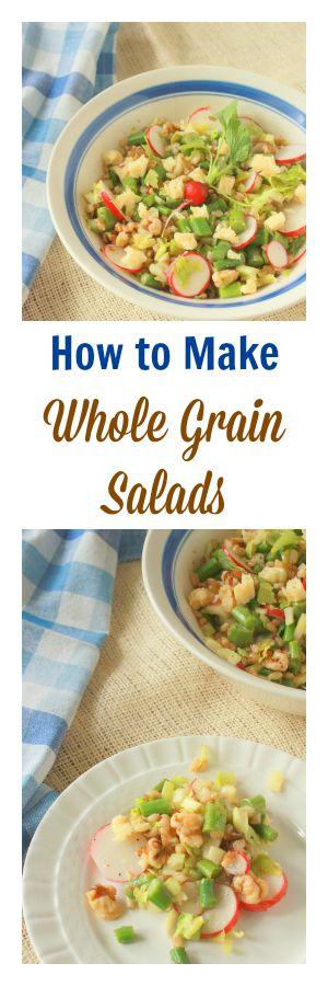 How to Make Whole Grain Salads