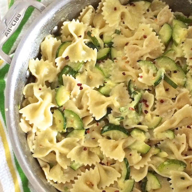 """""""How To Use Up Extra Zucchini"""" Pasta Dinner 