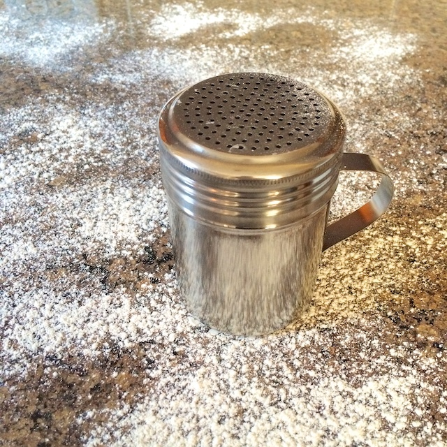 Healthy Kitchen Hacks - Quick Way to Flour a Surface