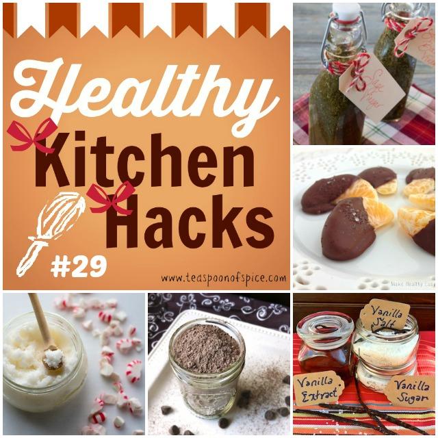Healthy Kitchen Hacks #29: 3-Ingredient Homemade Foodie Gifts