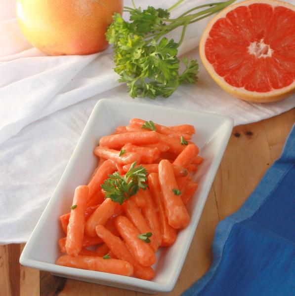 Honey & Grapefruit Glazed Carrots