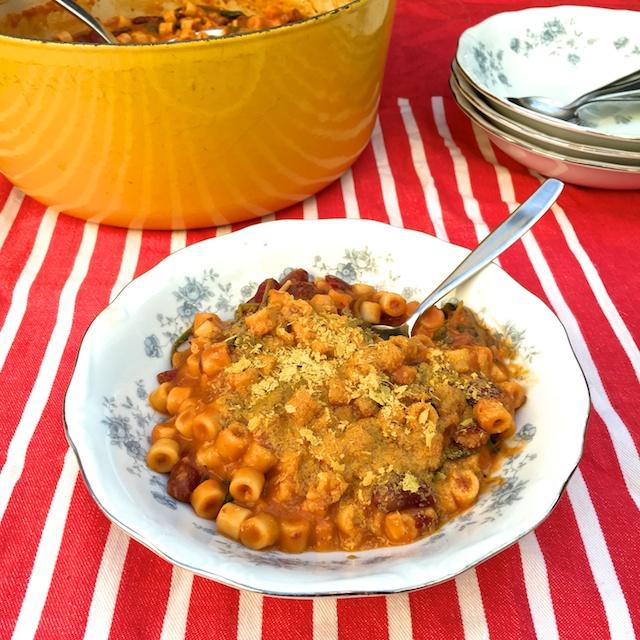 Pasta e Fagioli with Greens   The Recipe ReDux