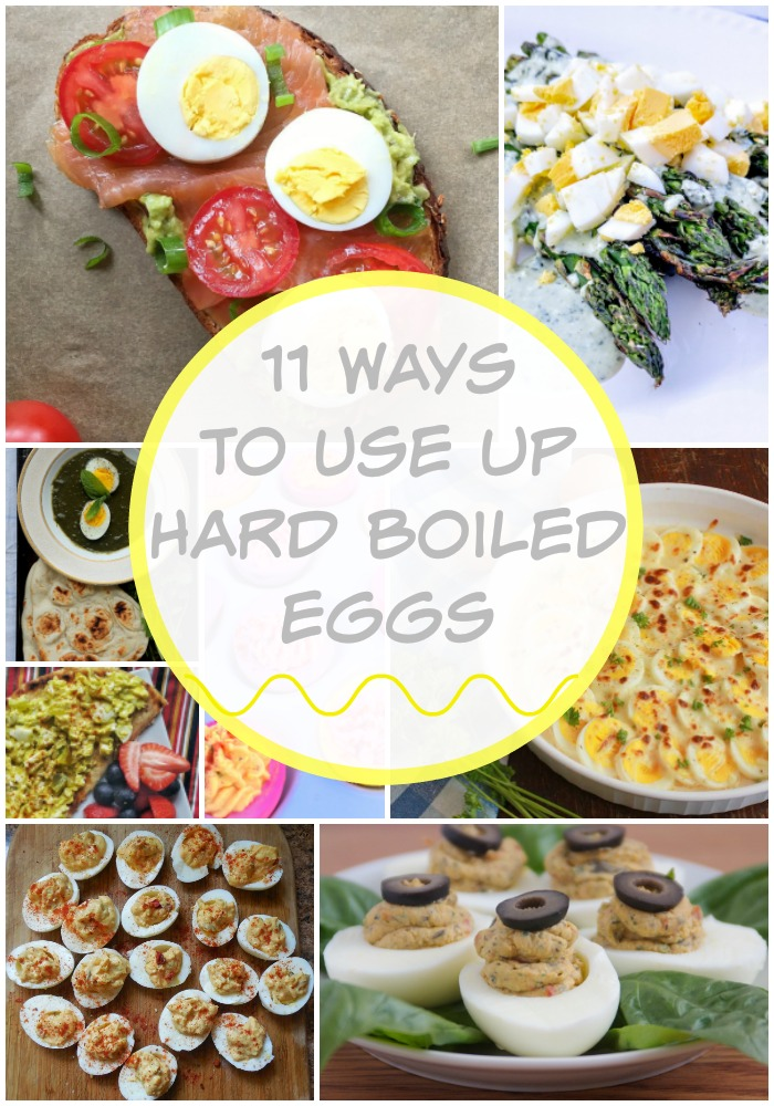 If you have a bunch of leftover Easter Eggs, here are some great recipes using hard boiled eggs as an ingredient! @tspbasil