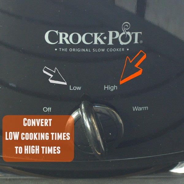 #HealthyKitchenHack ==> Convert SLOW COOKER times LOW to HIGH | @TspCurry
