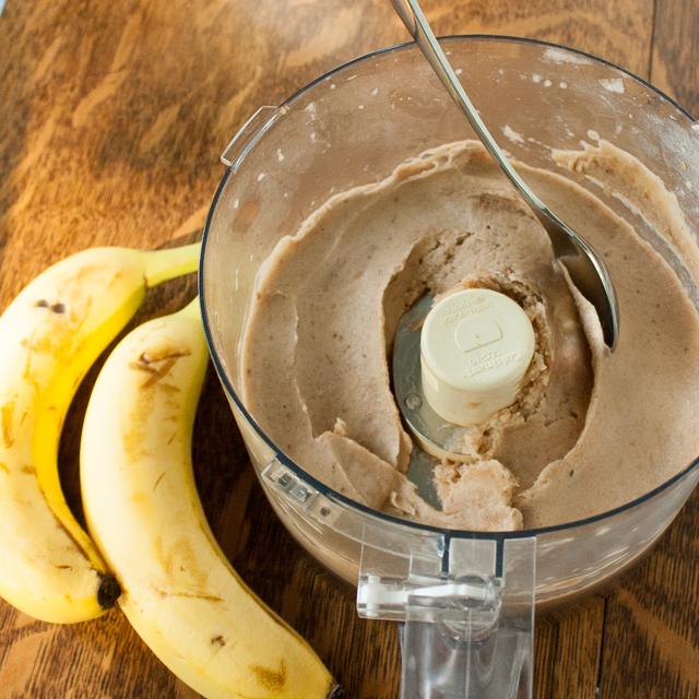How to make chocolate banana ice cream   @tspcurry