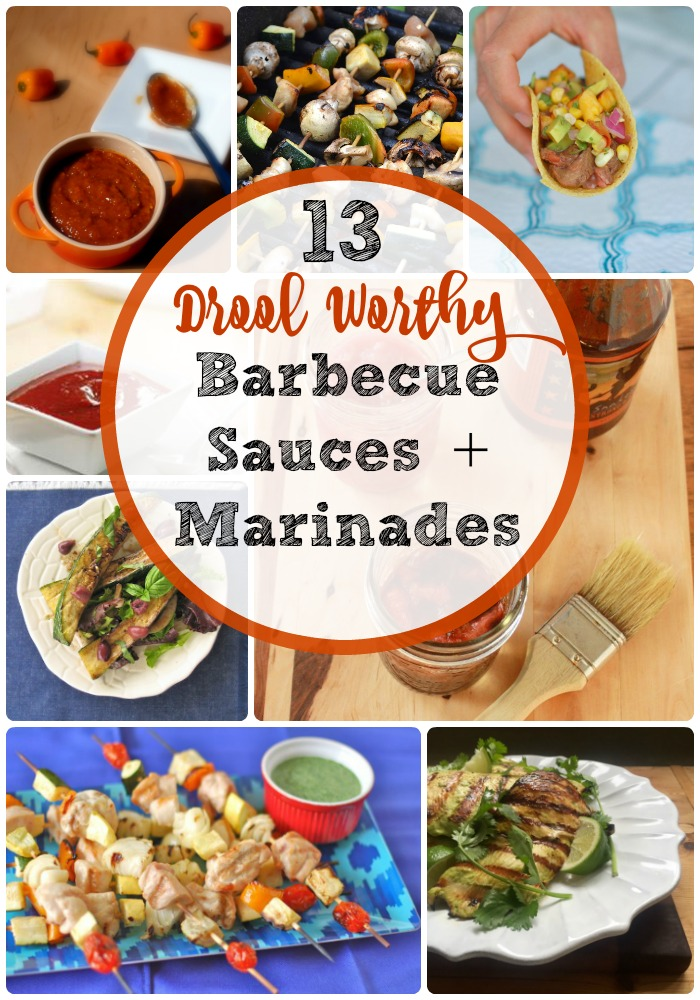 When grilling this summer, nothing beats homemade BBQ sauces! Check out these 13 Drool Worthy and Better For You Barbecue Sauces and Marinades @tspbasil