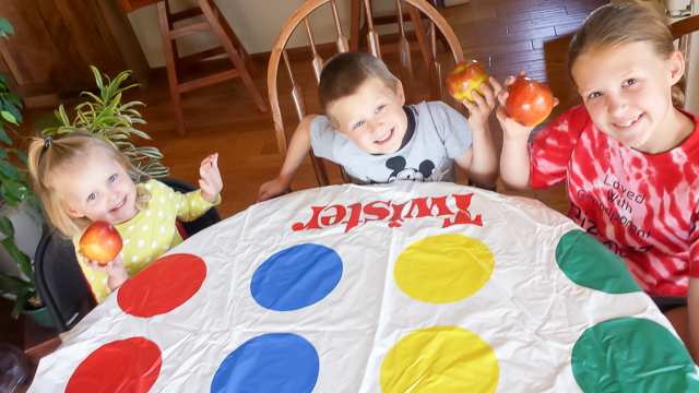 #HealthyKitchenHack - Twister Game for Fun Snacks | @TspCurry