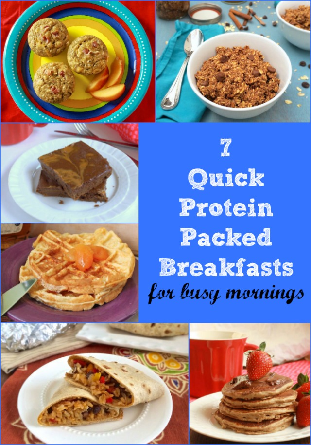 7 Quick Protein-Packed Breakfasts For Busy Mornings
