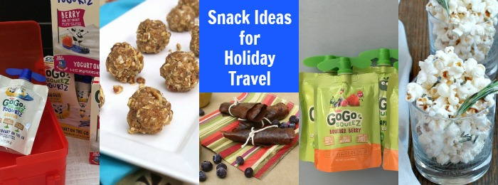 [sponsored} Keeping your snacking sensible during the holidays and pack better-for-you options when traveling. Ideas at Teaspoonofspice.com