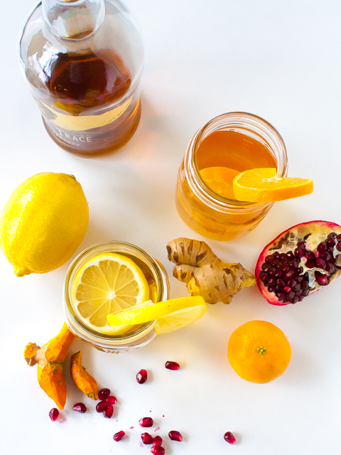 A Hot Toddy will cure whatever ails you: HOW TO MAKE A HEALTHY HOT TODDY + 3 RECIPES | @TspCurry - For more healthy recipes: TeaspoonOfSpice.com