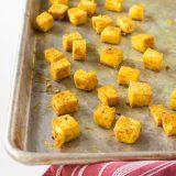 How to Make Crispy Baked Tofu   @TspCurry
