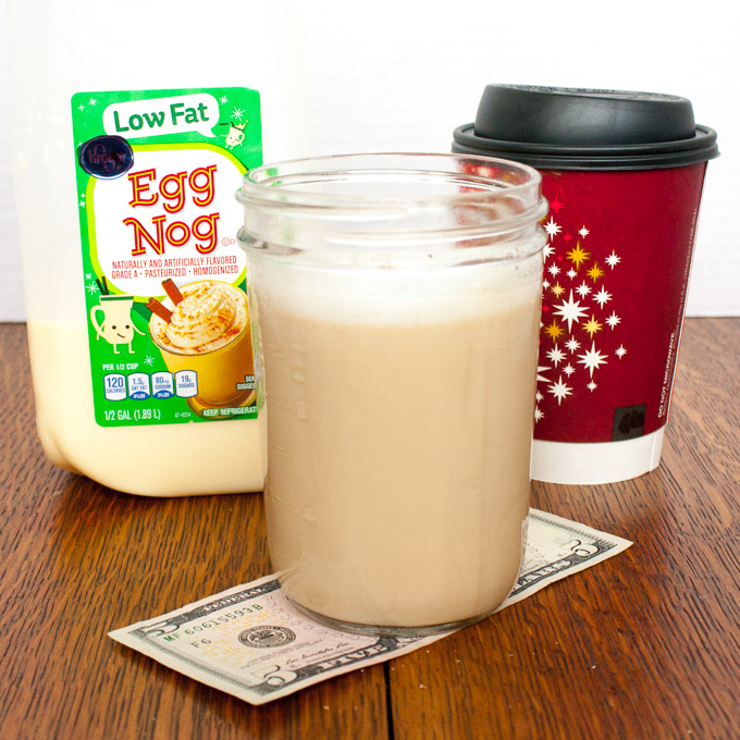 Make a Homemade Eggnog Latte