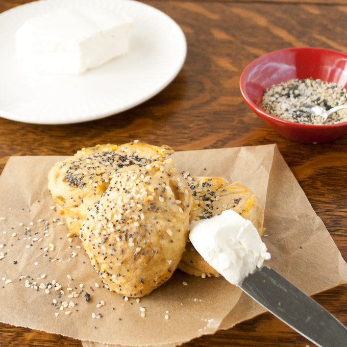 Everything Bagel Bubble Bread