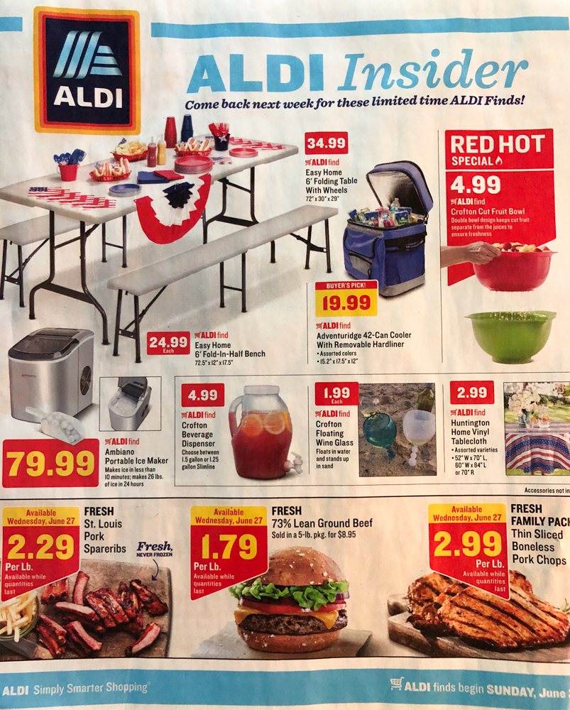5 Reasons To Shop at ALDI for Your Next Cookout