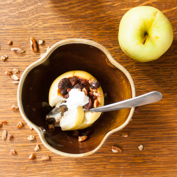 Easy Baked Apples | @TspCurry