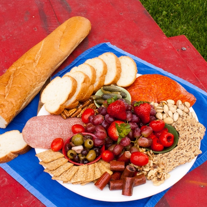 How to Make a Mediterranean Grazing Board
