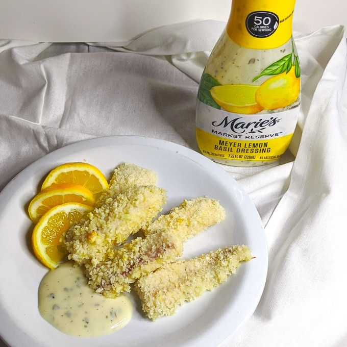 Lemon Breaded Fish Sticks